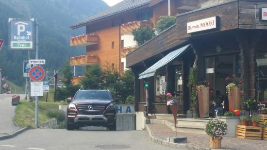 Hotel Taescherhof : Parkhaus