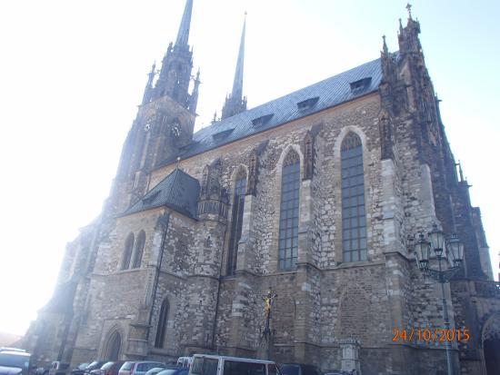 Brno, Tsjechië: St.Peter & St. Paul's Cathedral