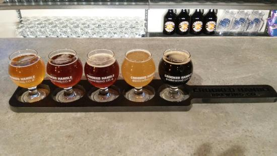 Crooked Handle Brewing Co.: Flight of Five