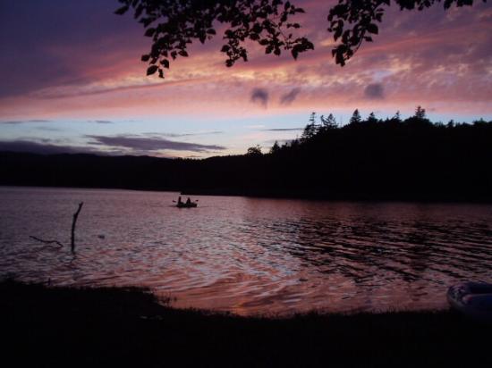 Chimikeppu Lake: 夕暮れのチミケップ湖
