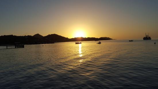 Charlestown, Canouan: Sonnenuntergang