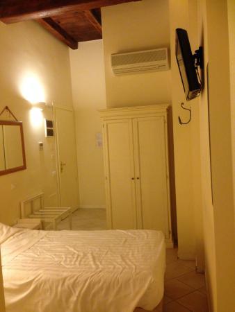 Hotel Albergo Atlantic: Single room, first floor