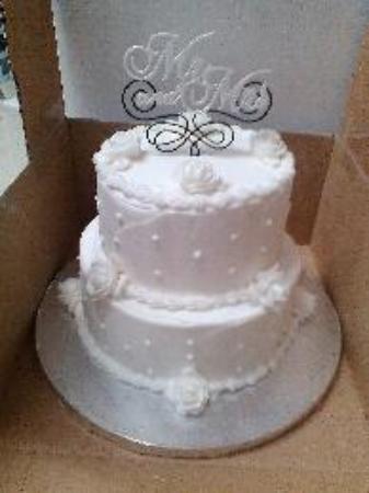 Isle, มินนิโซตา: Mr. & Mrs. Wedding Cake