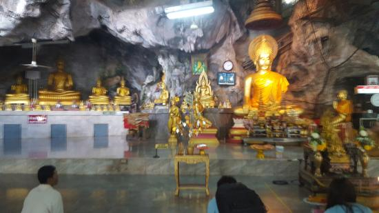 Inside the Tiger Temple Krabi - Picture of Tiger Cave ...