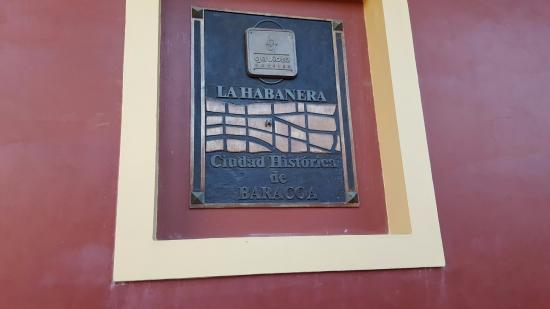 Hostal La Habanera: l'enseigne