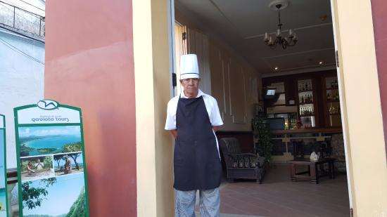 Hostal La Habanera: le chef