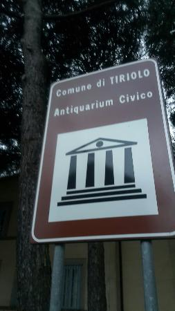 Tiriolo, Italia: Antiquarium Civico