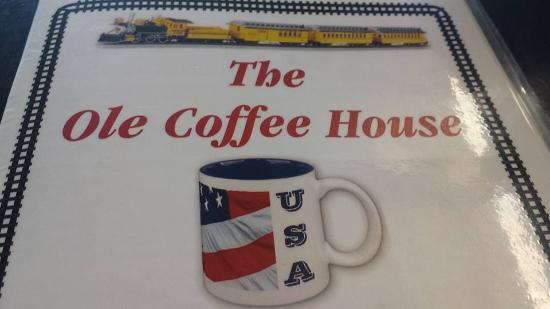 The Ole Coffee House: Not a place to stop at for food in my opinion