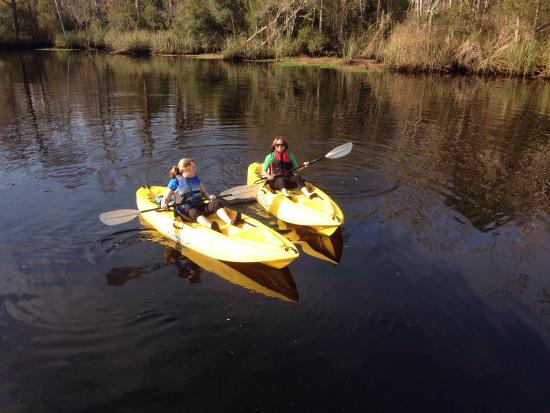 Yulee, FL: Kayaking at Lofton Creek