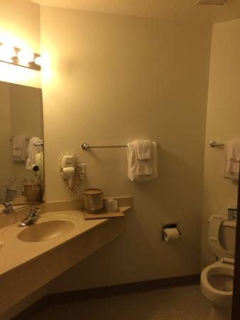 Quality Inn: Functional, not fancy