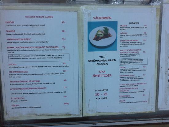 Nystekt Stromming : Цены