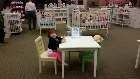 table and chairs for kids and their babies to sit at bild von rh tripadvisor de