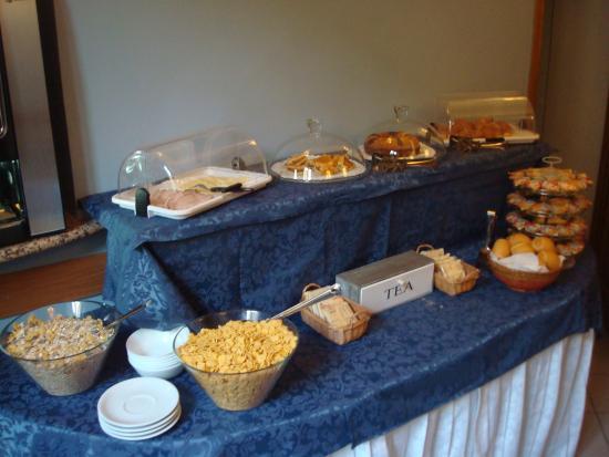 Hotel Duca D'Aosta: скромный выбор