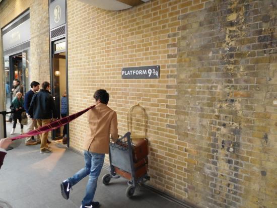 Image result for platform 9 3/4