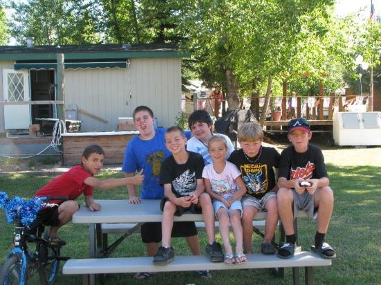 Cascade, ID: The kids and all their amazing friends they have made