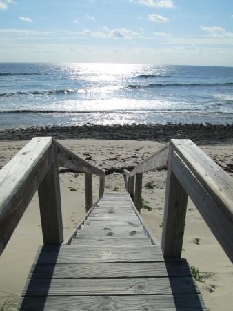 Sea Spray Resort & Marina : Pathway to Beach