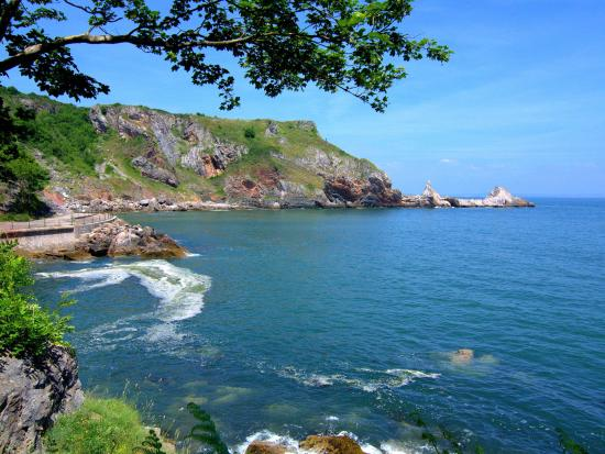 English Riviera, UK: Anstey's Cove in Torquay