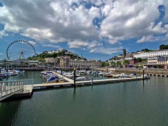 Riviera anglaise, UK : Harbour in Torquay
