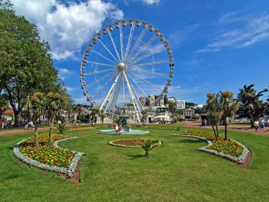 Den engelske riviera, UK: Princess Gardens in Torquay