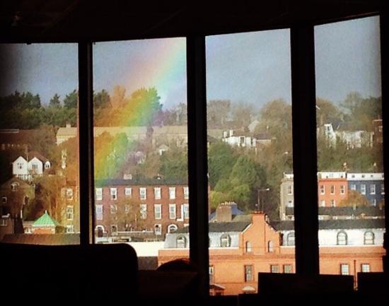 Cork City Tourist Information Centre: Rainbow over Cork city