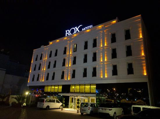 Hotel From Outside Picture Of Rox Hotel Istanbul Ataturk