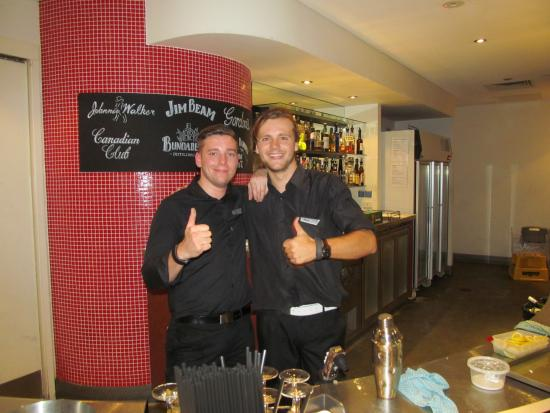 Sippy Downs, Australia: awesome bar staff
