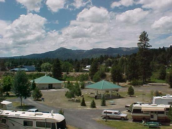Cascade, ID: Two picnic pavilions for groups