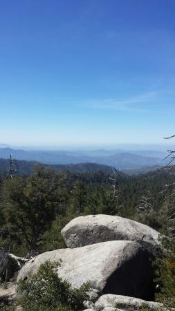 Idyllwild, Калифорния: 26/feb/16 hiking on the Marion Mt. Trail  (2E14) great hike. Everything above 9k is snow and ice