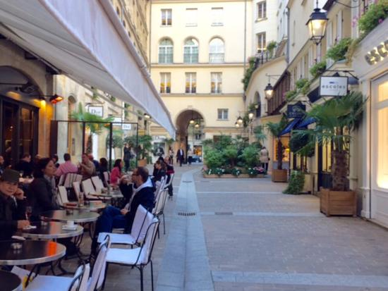 "Exterior view of ""Le Village"" at Le Village Royal...off rue Royale"