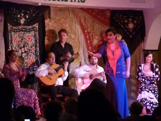 Cafe de Chinitas : the performance is for you