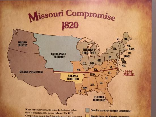 A history of the missouri compromise in the american civil war