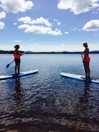 Jackman, ME: Paddle boarding