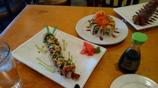 Gosh! Asian Bistro & Sushi: Great presentation not so great on taste :(