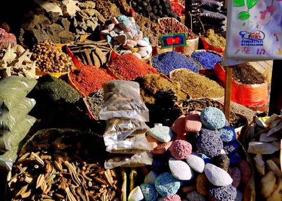 Sharia el Souk: .... herbs and spices..