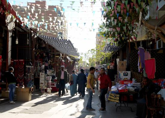 Sharia el Souk: ...pleasant local market you can expect here.... cozy...