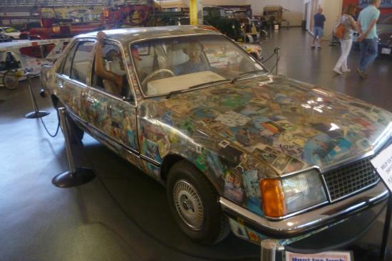 Strange car picture of national motor museum birdwood for National motors used cars