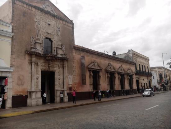 Foto de museo casa montejo m rida museo casa de montejo plaza mayor de m rida yucat n m xico - Foto casa merida ...