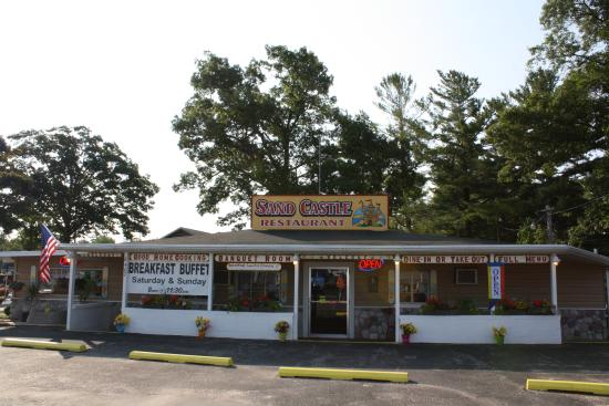Mears, MI: Enjoy the great location of the Sand Castle Restaurant.
