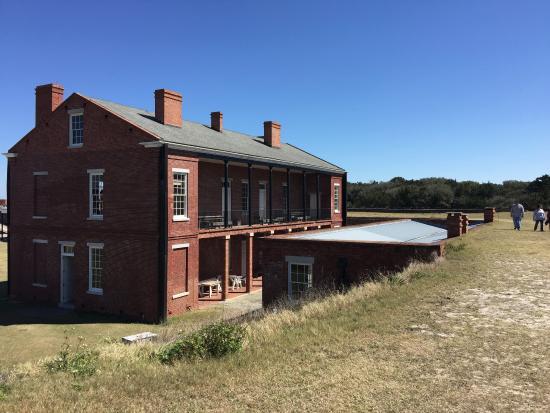 Fort Caroline National Memorial : Officers quarters