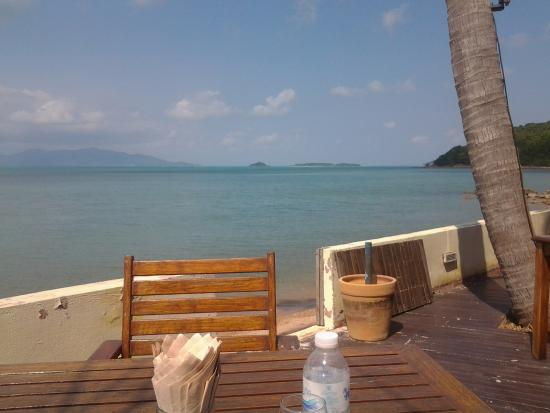 Ad Hoc Beach Cafe: View from the table