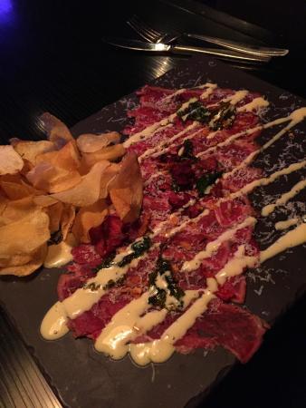 """Summerland, Canadá: Beef carpaccio - (Gluten Free) """"Beefy and carpaccio-licous"""""""
