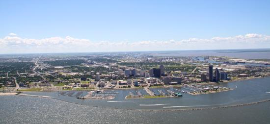 panoramic of corpus christi from the air picture of texan warbird rh tripadvisor co za