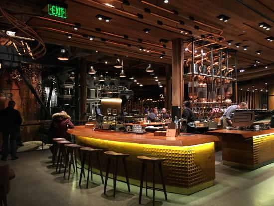 Coffee Bar Top Level Picture Of Starbucks Reserve