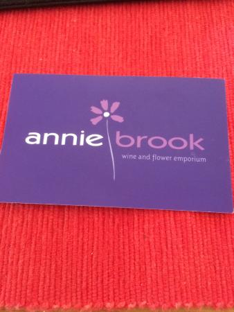 Anniebrook Wine and Flower Emporium