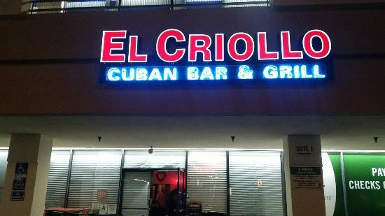 El Criollo Bar & Grill
