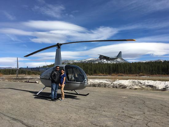 South Lake Tahoe, CA: Was a really good experience 😜😜😜😜😜,and the pilot was so cool ,highly recommend if u ever go