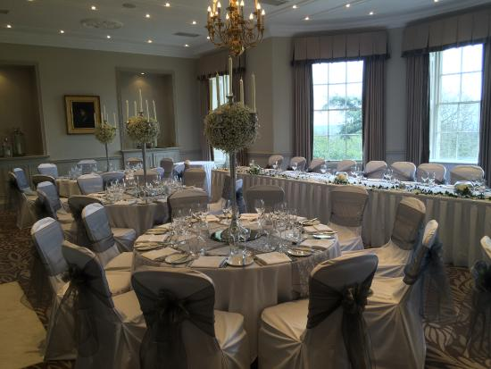 Rudding Park Hotel: Crosby suite decorated for the wedding