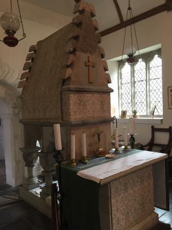 Llangynog, UK: St Melangell's Church