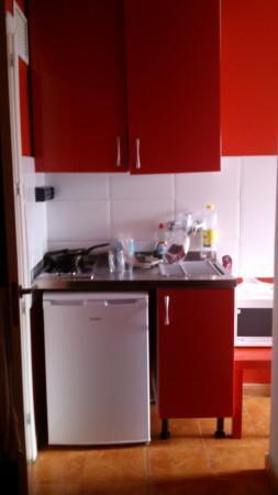 Apartamentos Ile de France : tamanho da cozinha