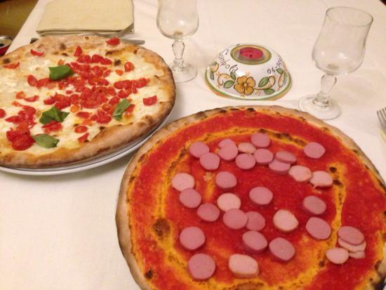 San Vito Romano, Italia: Pizze